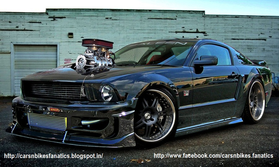 Tuned Ford Mustang Shelby Fatallyborn