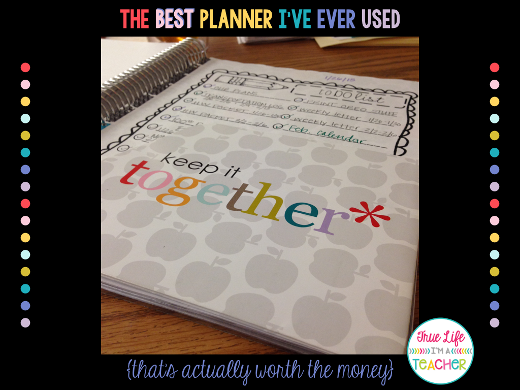 The Best Planner I've Ever Used | True Life I'm a Teacher