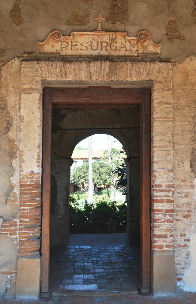 Mission San Juan Capistrano in southern Orange County, California | Em Then Now When