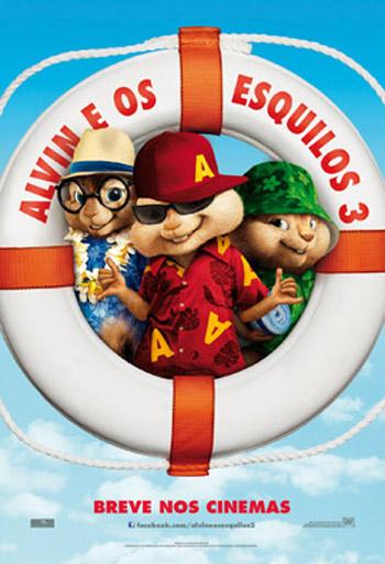 Alvin e os Esquilos 3 – Dublado