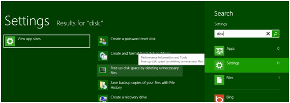 how to clear up folders from c drive