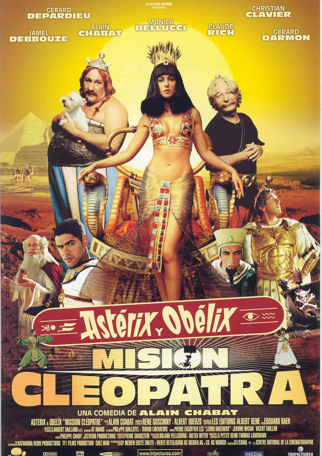 Asterix and Obelix: Mission Cleopatra (2002) tainies online oipeirates