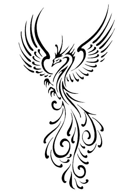 tribal-bird-tattoos