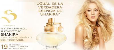 premios viaje concierto shakira Brasil promocion A&E 2011