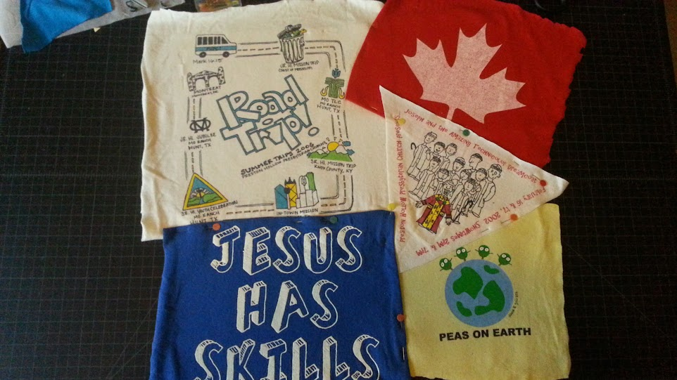 Our Morganic Family One Crazy Way To Make A T Shirt Quilt
