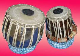 Indian Musical Instruments Tabla Music in nature: India...