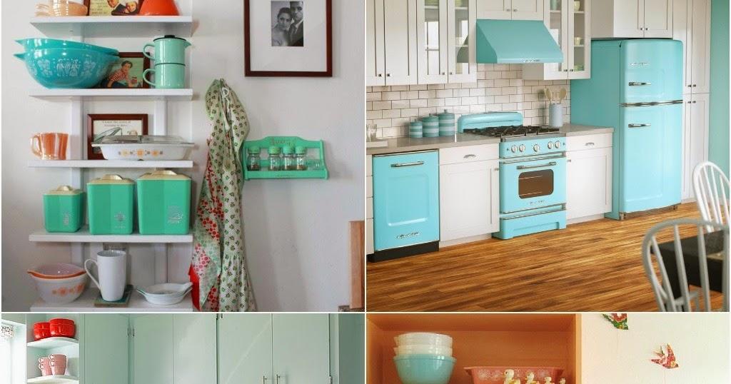 7 dicas de decoração para ter uma cozinha retrô e colorida ...