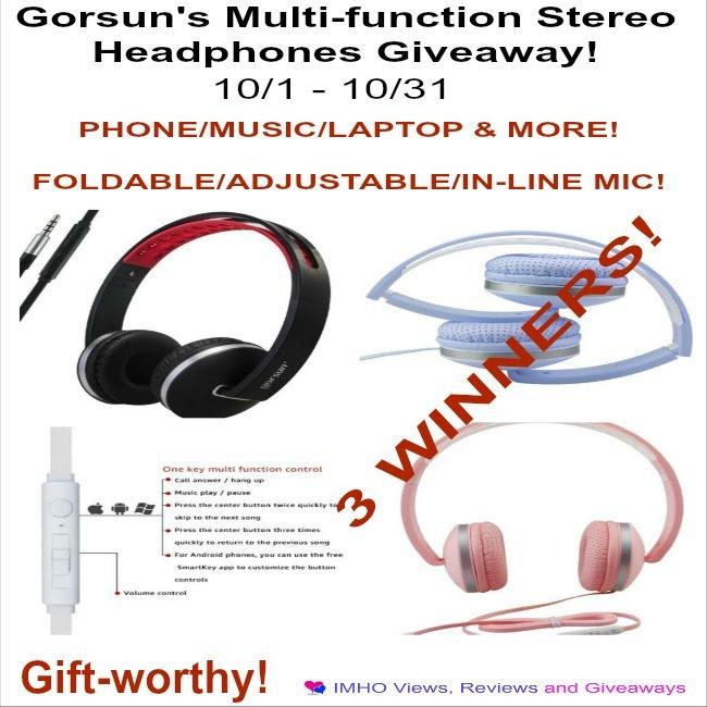 Gorsun's MultiFunction Stereo Headphones