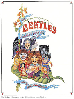 Beatles Illustrated Lyrics cover art