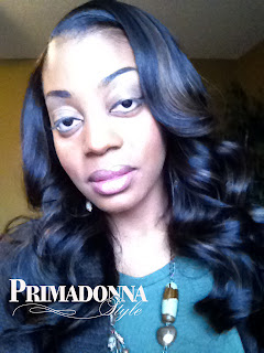 "XQ Remy Curled Hairstyle 14"" and 16"" 1B/30"