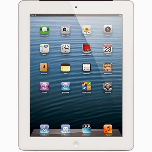 iPad com tela Retina (4ª Geração) 16GB Wi-Fi Branco - Apple