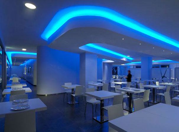 Restaurant Interior Lighting Fixtures Design