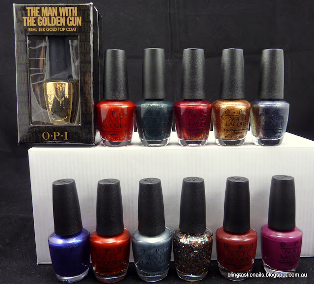OPI James Bond Collection