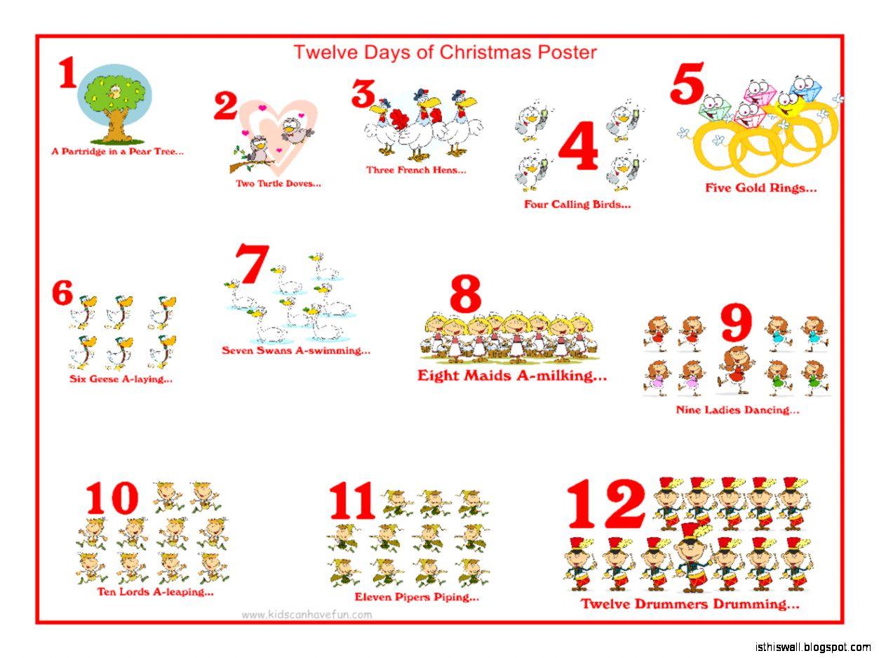the twelve days of christmas choir