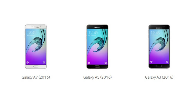 Samsung Launches Galaxy A3,A5,A7 (2016) With Metal Body