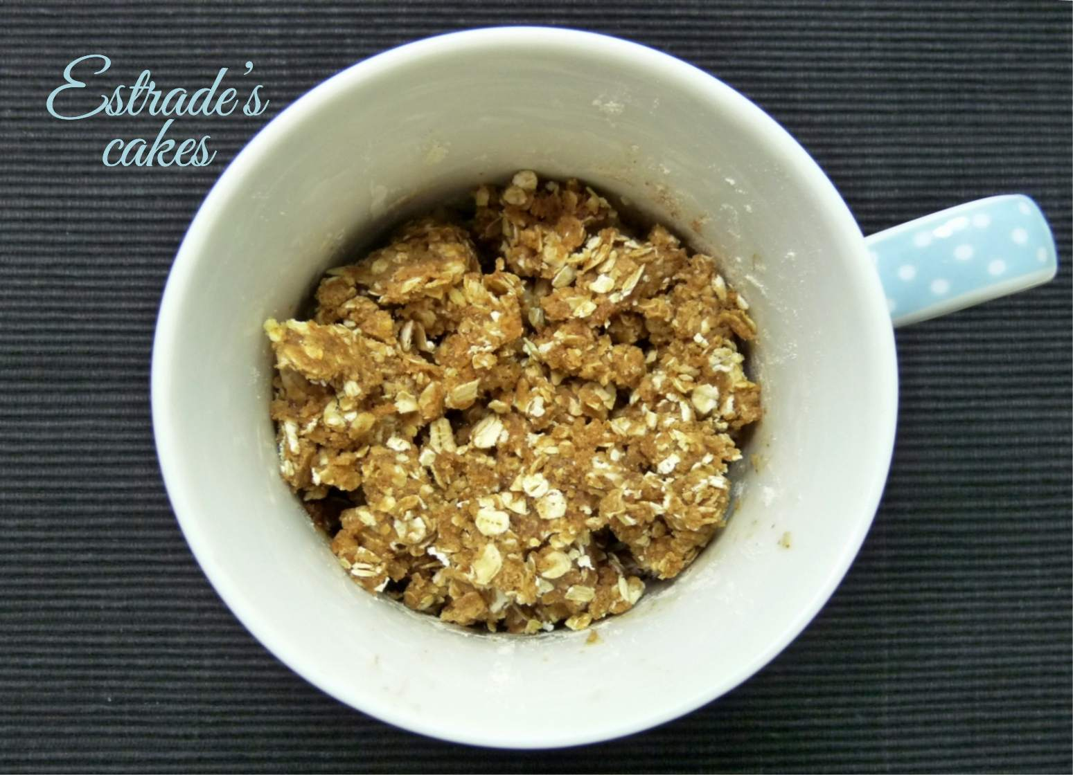 receta de crumble de peras al microondas - 3