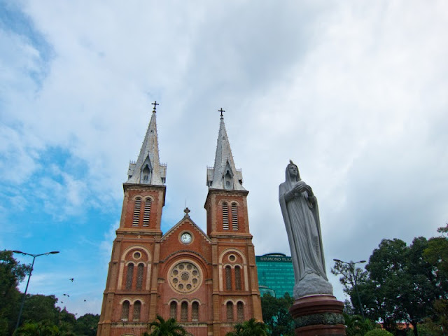Notre Dame Cathedral, HCMC, Vietnam