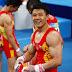 Equipe masculina da China é definida