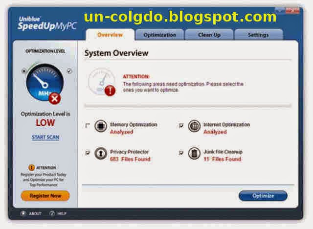 Speedupmypc registrar gratis