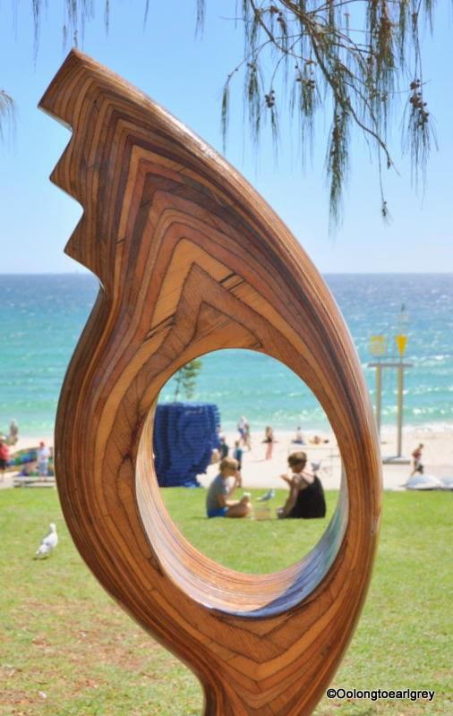 Sculpture by the sea Cottesloe 2014, sea change