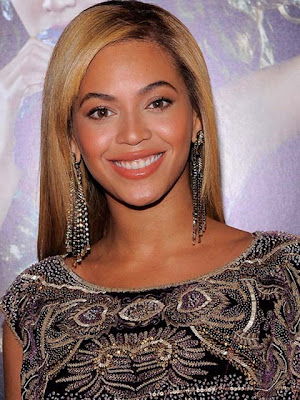 Beyonce Knowles Diamond Chandelier Earrings