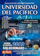 Examen U. Pacifico 2019