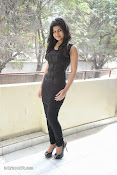 Alekya Photos in Black at Aa Aiduguru Press meet-thumbnail-17