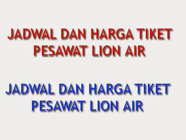 Jadwal Dan Harga Tiket Pesawat Lion Air Jakarta Bali 31 Desember