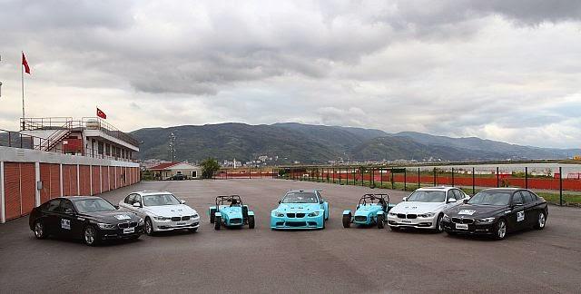 Borusandan BMW li eğitimler