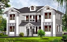 House Exterior Design Kerala - Wallpaper