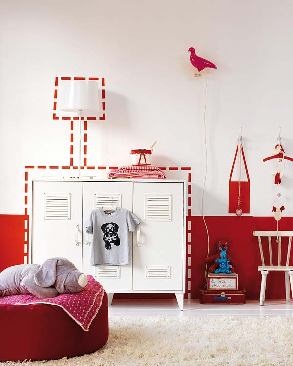 High style design inspirations for a modern kids room