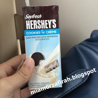 Soyfresh Hershey's, Cookies 'N' Creme, hershey's drink, hershey;s chocolate, hershey's mocha, cookies n creme