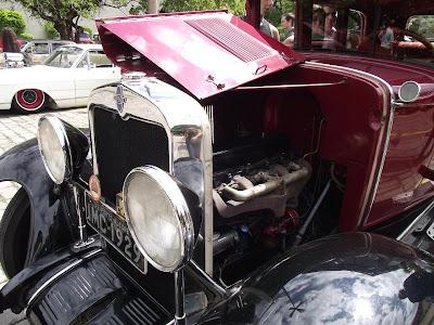 1929 Chevrolet: detalhe do capô