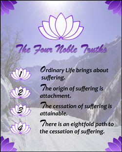Shambhala Meditation Group of East Aurora: The Four Noble Truths