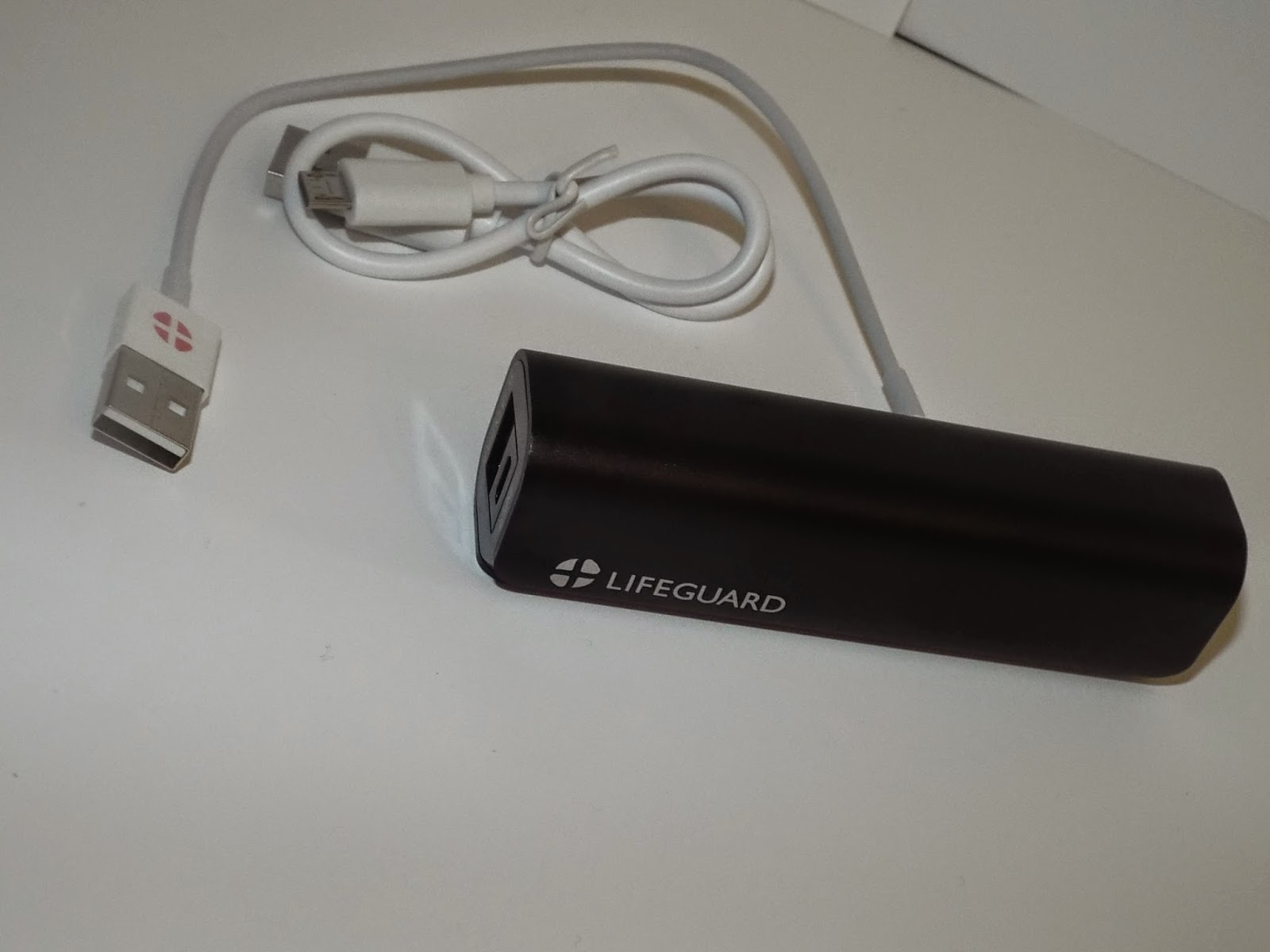 LifeGuard Charger, Two cords