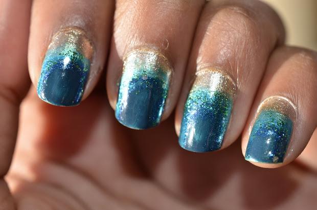 gaborillaa manicure monday ocean