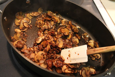Cremini mushrooms for Beef Stroganoff