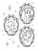 Fotografía y Diseño para un pendón (1M x 1 M) con el motivo de princesas . dise princesas