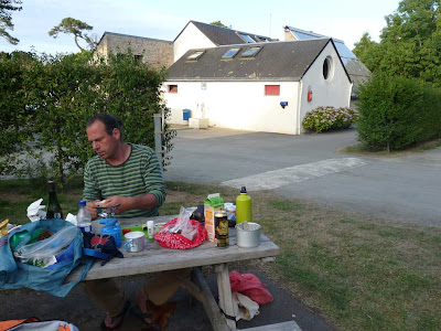 パンポル Paimpol ブルターニュ クルッキンキャンプ場 Camping de Cruckin