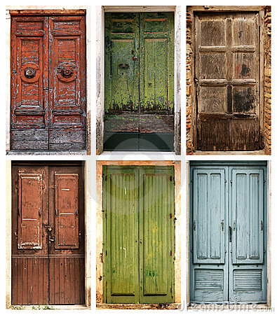 S arquitetura e planejamento portas fechamentos for Como restaurar puertas de madera antiguas