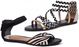 Arezzo alto verão sandalias