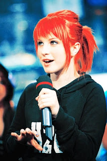 Hayley Williams Ponytail Hair
