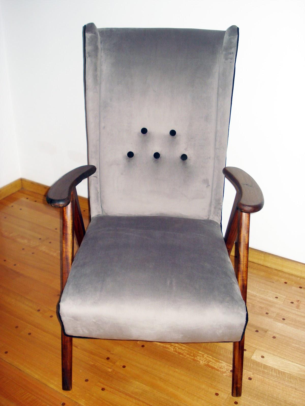 Chochiloca reciclado de muebles sillon americano - Reciclado de muebles ...