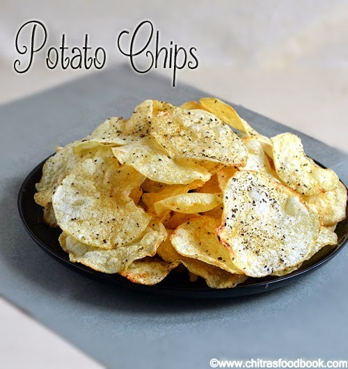 Potato chips recipe how to make potato chips at home chitras food potato chips recipe how to make potato chips at home chitras food book forumfinder Images