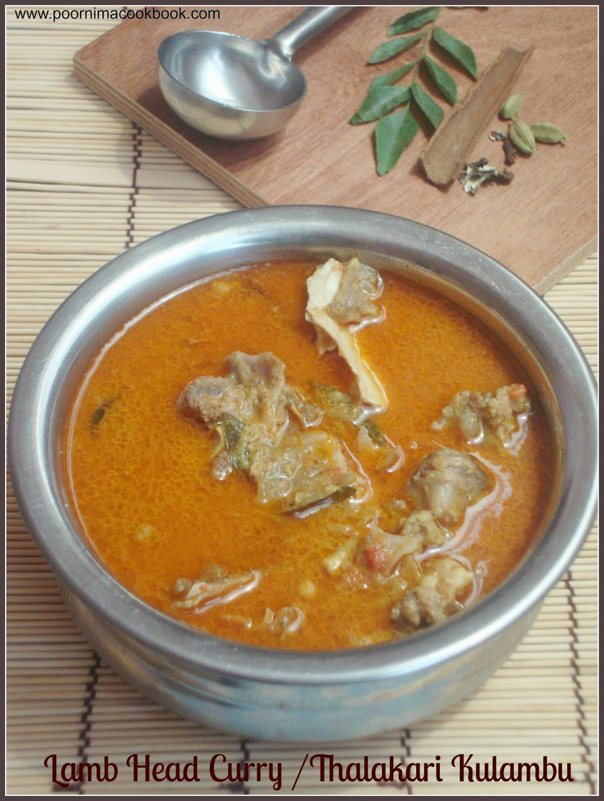 how to cook lamb brain curry