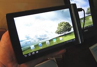 Asus Eee Pad MeMO 171 Tablet Got Its Own Website