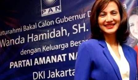 Wanda Hamidah dipecat dari PAN