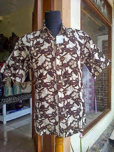 Baju Batik Lengan Pendek