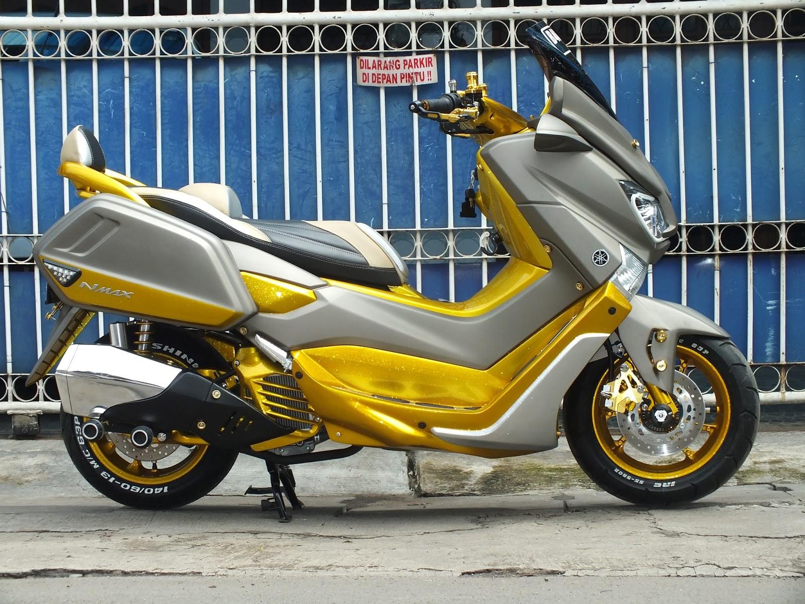 Doctor Matic Klinik Spesialis Motor Matic  Modifikasi Yamaha Nmax