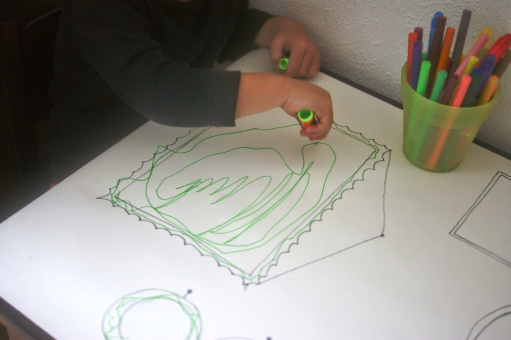 kids craft, drawing